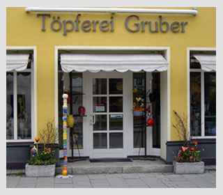 Töpferei Gruber | Sabine Knoll · Kirchzeile 26 · Bad Aibling